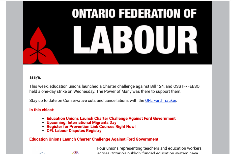OFL email
