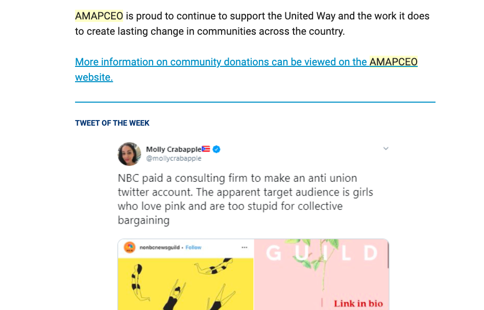 AMAPCEO email