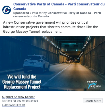 PC party social media post